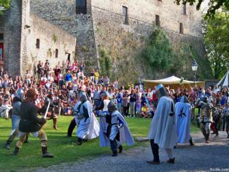 Giornate Medievali al Castello Dal Verme di Zavattarello: l'assedio al castello