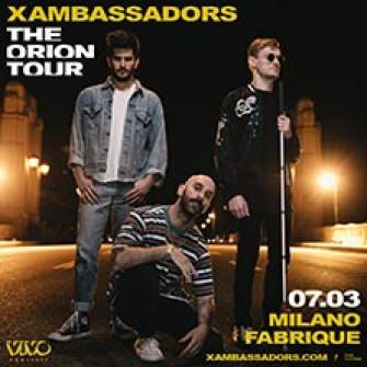 x ambassador biglietti