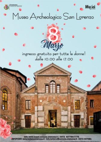 8 marzo 2020 - Ingresso gratuito alle donne al Museo Archeologico San Lorenzo
