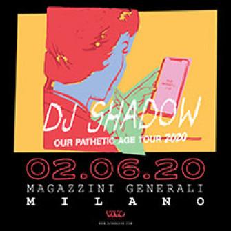 dj shadow biglietti