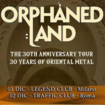 orphaned land biglietti