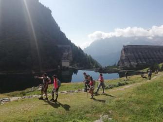 Trekking alla Diga al Gleno