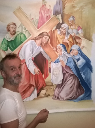 I madonnari di Bergamo a Valbondione
