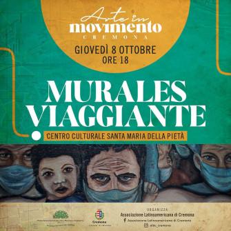 """Murales viaggiante - """"Allegoria del popolo e la sua lotta quotidiana per la salute, educazione e cultura"""""""