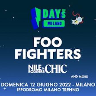 foo fighters biglietti