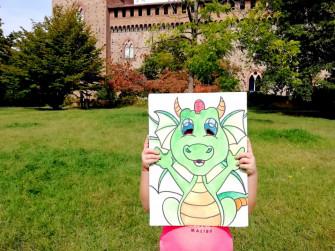 Caccia al tesoro al castello per bambini