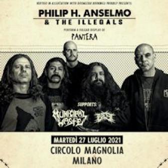 philip anselmo biglietti