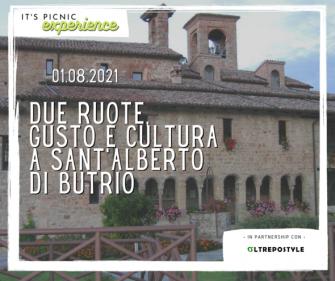 Due ruote, gusto e cultura a Sant'Alberto di Butrio