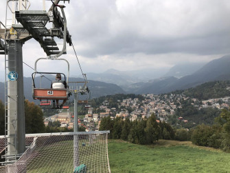 From Clusone to Selvino along the Val Seriana