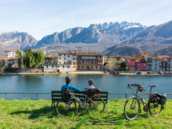 From Lecco to Milan following the Adda