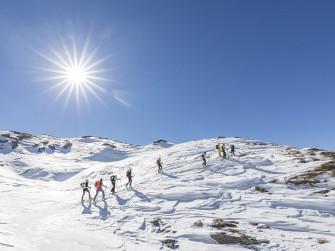 Valli di Tartano gran tour con cli sci