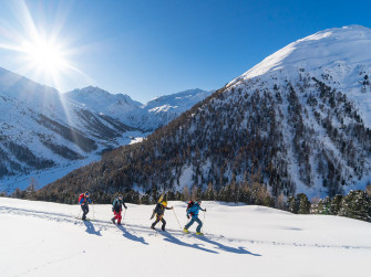 Dal campeggio Forcola fino al Monte delle Rezze