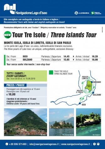 Tour delle tre isole