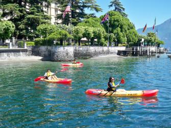 Noleggio Kayak sul Lago di Como alla scoperta di James Bond