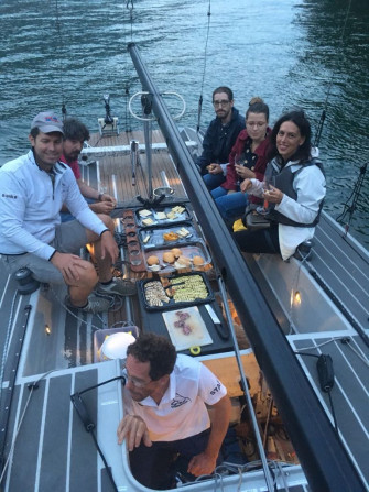 Night sailing tour to the Bogn with aperitif on board