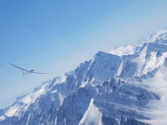 Gliding in Villa