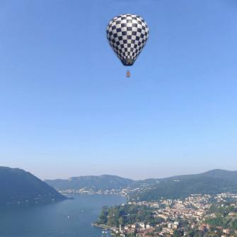 Volo in Mongolfiera-Lombardia Milano ComoLake