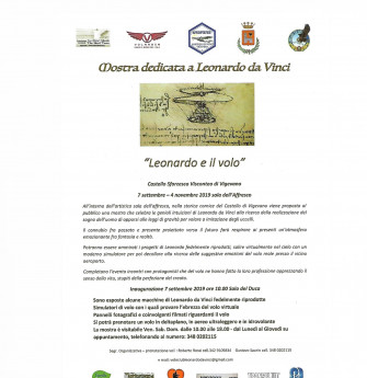 LEONARDO e il volo al castello di Vigevano