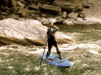 River Sup - Superman