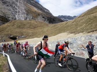 Giro d'Italia 2020 - 18^ tappa - arrivo ai Laghi di Cancano