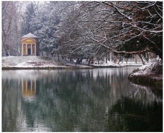 Trekking fotografico: magie d'inverno alla Reggia di Monza