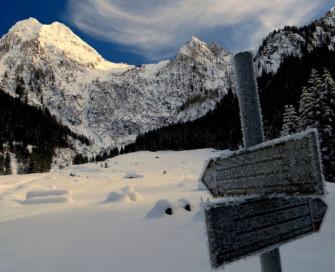 Ciaspolata in Val Brandet