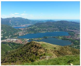 Escursione in cima al Cornizzolo: la vetta dei 7 laghi