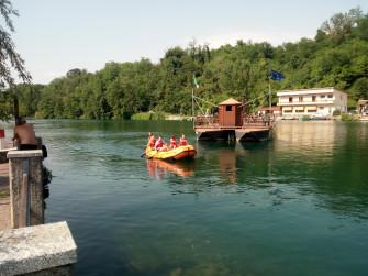 Soft Rafting sull'Adda