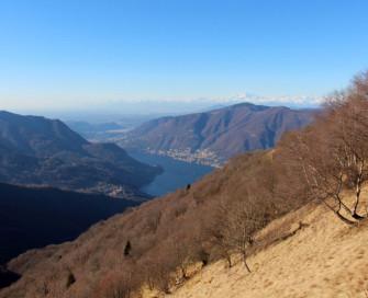 Vista guidata sulla cresta del Monte Palanzone