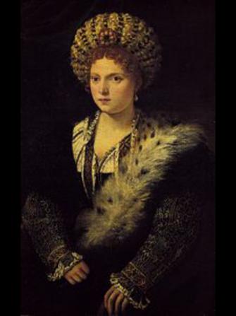 Festa della donna con le donne della corte dei Gonzaga