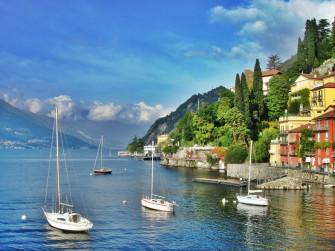Carlotta di Prussia ci mostra il lago di Como