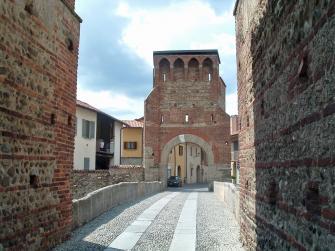 Il centro storico di Vimercate