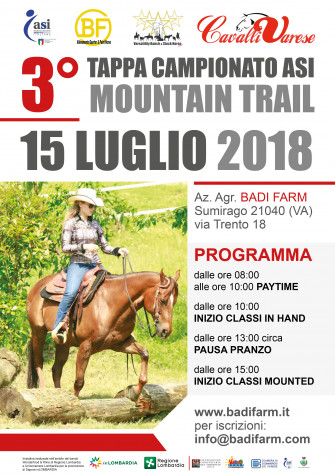3° Tappa Campionato ASI Mountain Trail