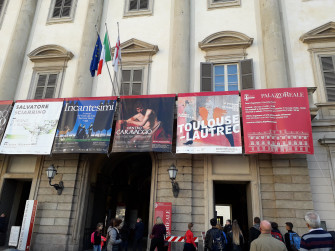 Palazzo Reale e le mostre d'arte temporanee