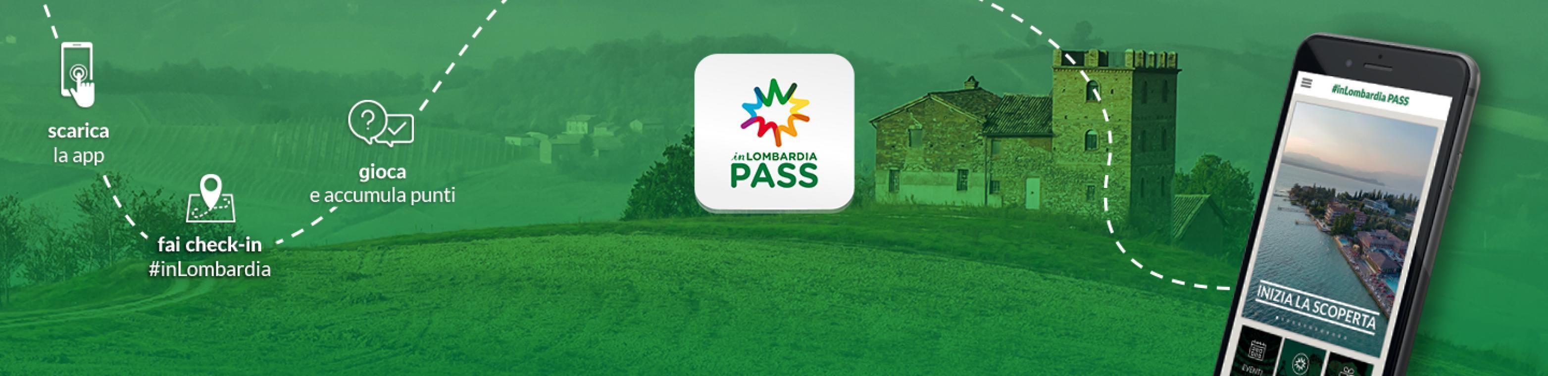 Scarica subito la nuova app #inLombardia PASS!