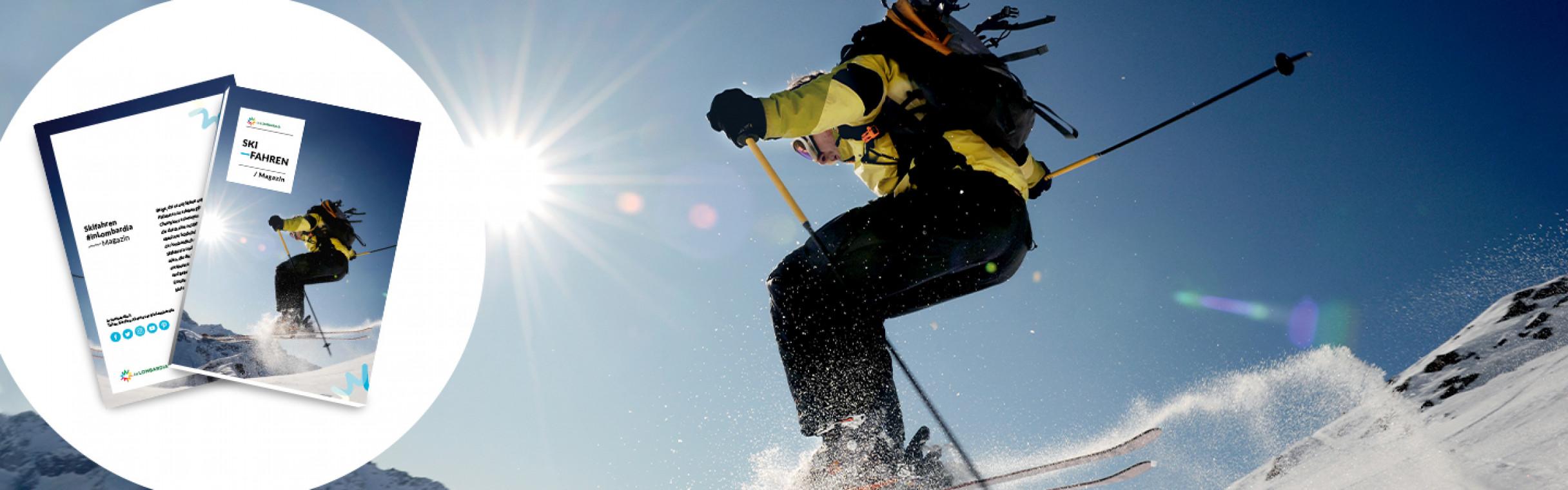 Laden Sie das Magazin herunter Skifahren!