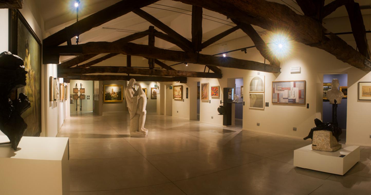 Monza, Musei Civici di Monza, sala del Novecento
