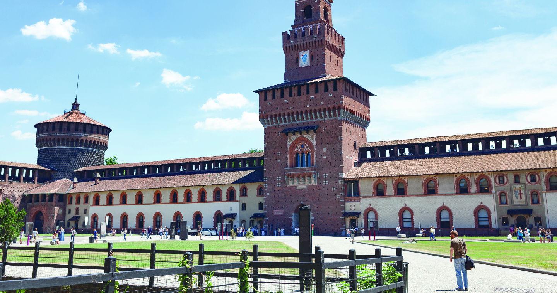 7 Burgen und Schlösser in der Lombardei