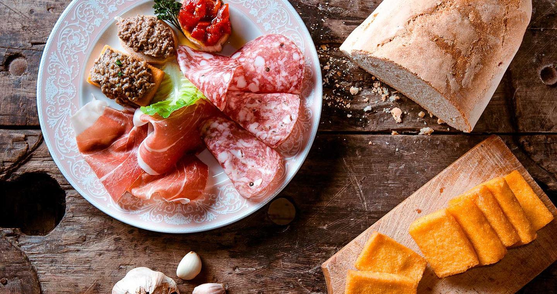 Productos tipicos de la Valtellina
