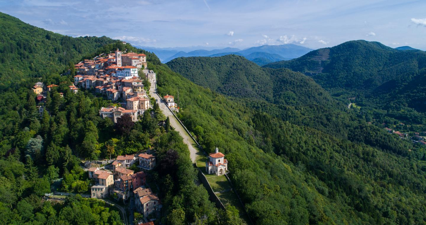 Sacri Monti in Piedmont and Lombardy