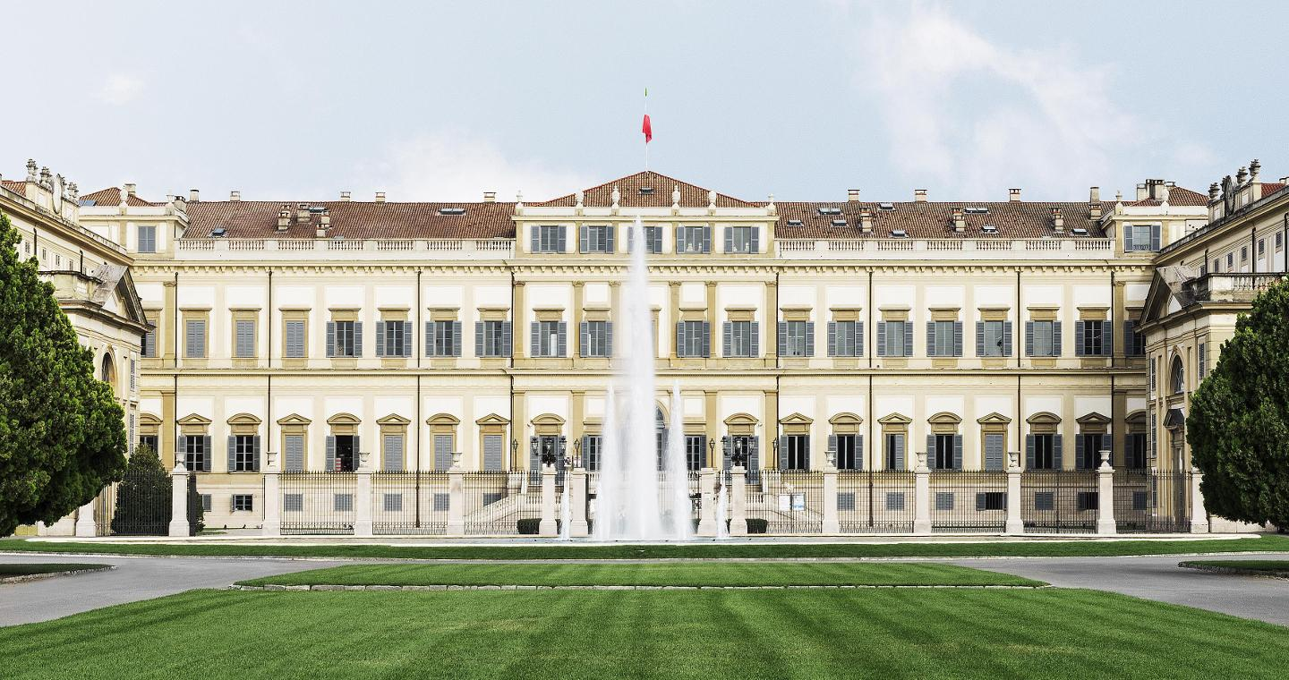 Royal Villa of Monza and gardens