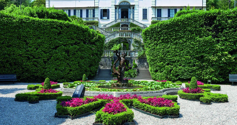 Botanischer garten der Villa Carlotta