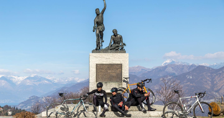Madonna del Ghisallo, tempio dei ciclisti