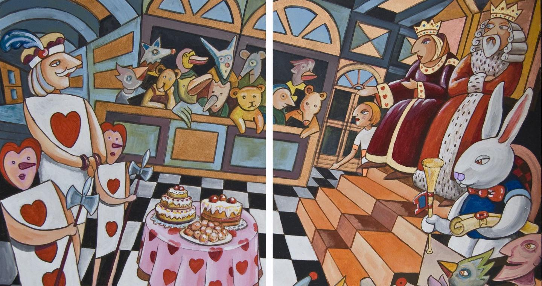 Alice nel Chiostro delle Meraviglie - Ettore Antonini