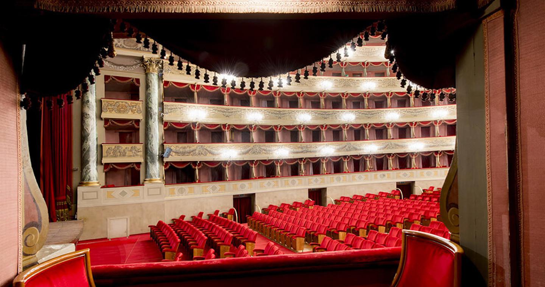 Palchetti laterali Teatro Donizetti (Bergamo)