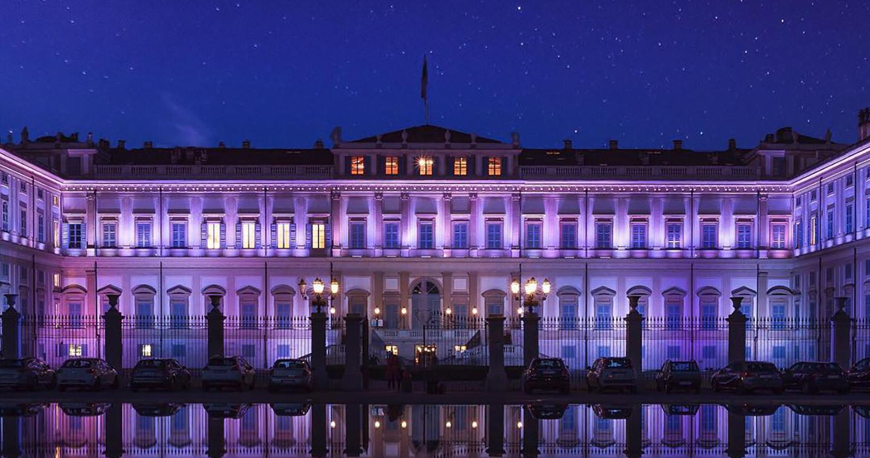 Veduta esterna della Villa Reale di Monza @andreadallagnola