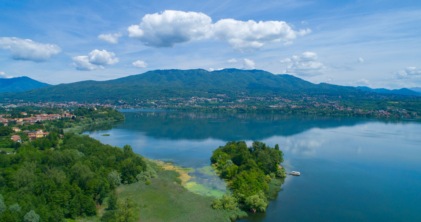 Isolinio Virginia sul Lago di Varese