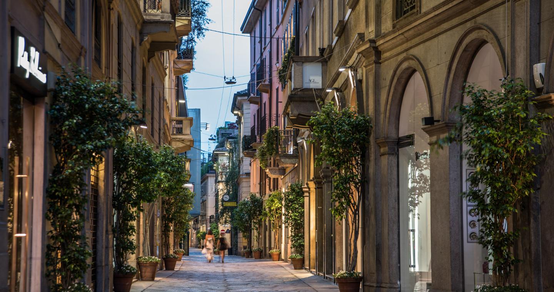 Quadrilatero della Moda, Via della Spiga a Milano