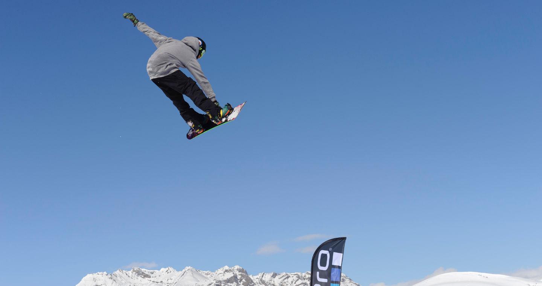 In Valtellina, tra snowpark e free rider