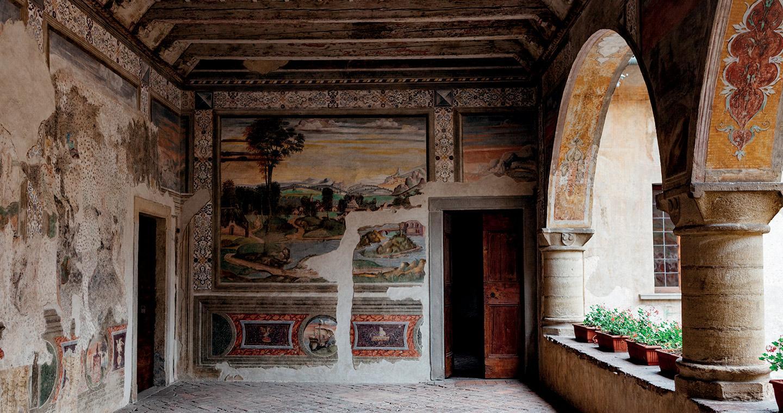 Malpaga castle in Cavernago, Bergamo